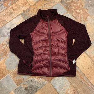 Burgundy London Fog Puffer